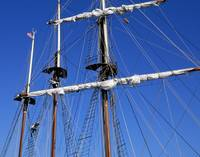 Youth Climbs the Mast