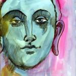 """""""Blue Genie"""" by schulmanart"""