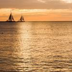 """Sails In the Sunset Aruba"" by jkphotos"
