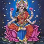 """Lakshmi Rising"" by LauraCameron"