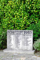 War Memorial Tablet, Shanklin (23957-RDA)