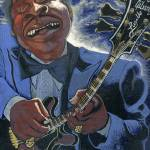 """Finessing Lucille - BB King Blues Guitar"" by Ebenlo"