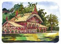 Pavilion, Tower Grove Park