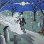 """Cemetery Honeymoon"" by visionaryartoflisathiel"