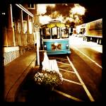 """Bethany Beach Trolley"" by Sprouseart"