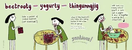 Beetrooty-Yogurty-Thingummyjig by Corrina Rothwell
