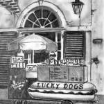 """Lucky Dog Cart"" by ChrisHolt"