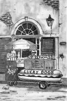 Lucky Dog Cart
