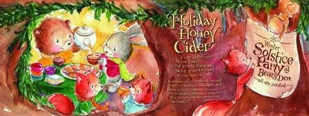Honey Cider by Shirley Ng-Benitez