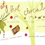 """Pepperminty Hot Chocolate by Erika Barriga"" by TheyDrawandCook"