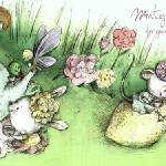 """Mint Tea Party by Jennifer A. Bell"" by TheyDrawandCook"