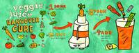 Veggie Juice Hangover Cure by Diana Heom by They Draw & Cook & Travel