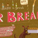 """Beer Bread by Natalie Schenker"" by TheyDrawandCook"