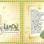 """Zesty Lemon Cheesecake by Tanya Turipamwe Stroh"" by TheyDrawandCook"