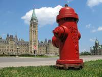 Fire Hydrant on the Parliament Hill