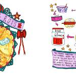 """Galette des Rois by Alice Dansey-Wright"" by TheyDrawandCook"