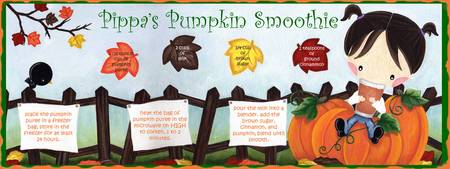 Pippa's Pumpkin Smoothie by Nicole Esposito