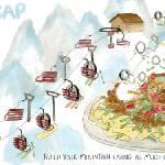 """Snowcap Pie byKristin G. Jackson"" by TheyDrawandCook"