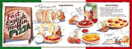 Fast English Muffin Pizza! by Shirley Ng-Benitez