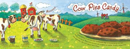 Cow Pies Candy by Jasmine Wall