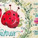 """Apple Ladybugs by Madalina Andronic"" by TheyDrawandCook"