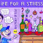 """A Stress-Free Holiday by Lisa Graves"" by TheyDrawandCook"