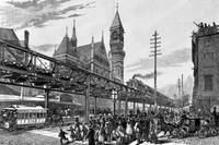 NYC ELEVATED RAILROAD
