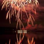 """""""Reflections of Red Fireworks"""" by Jackies-world"""