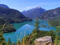 Diablo Lake - North Cascades National Park