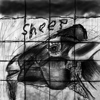 Mutant sheep madness drawing 2
