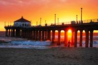 Under The Light at Manhattan Beach, CA