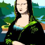 """Classics Revisited - Mona Lisa"" by ReDesign"