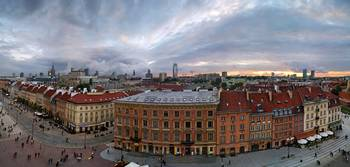 Warsaw - panoramic view