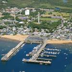 """Provincetown Harbor Aerial"" by ChrisSeufert"