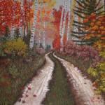"""Autumn Drive through Aspen-Birch Woods"" by tgministry"