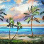 """Tropical Island Beach"" by mazz"