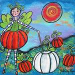 """The Pumpkin Fairy"" by juliryan"