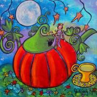 Autumn Tea Art Prints & Posters by Juli Cady Ryan