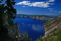 Cloud pterodactyl sighting on Crater Lake