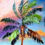 """Palm Tree Colors"" by mazz"