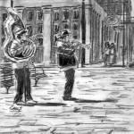 """Jackson Square Musicians"" by ChrisHolt"
