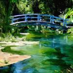 """Bridge to the Evergreen"" by TranscendingArt"