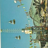 Nu-Pike Amusement Area- Long Beach, CA Art Prints & Posters by laughingclaw