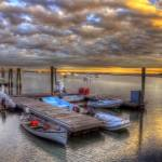 """Sunset over the POYCC marina"" by FrankSlack"