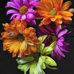 """Bright Flowers"" by JennyHudson"