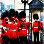 """CHANGING OF GUARD AT BUCKINGHAM PALACE"" by Zaboni"