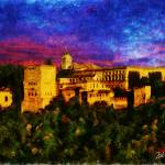 """ALHAMBRA GRANADA SPAIN"" by Zaboni"