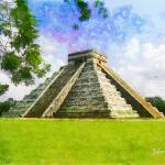 """CHICHEN ITZA MEXICO"" by Zaboni"