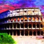 """COLOSSEUM OF ROMA"" by Zaboni"