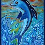 """Dolphin 4"" by paintingsbygretzky"